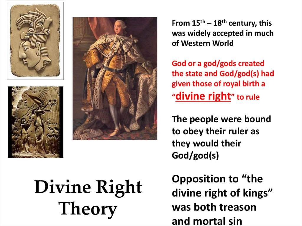 Lecture 4 Theories of Government and State Characteristics