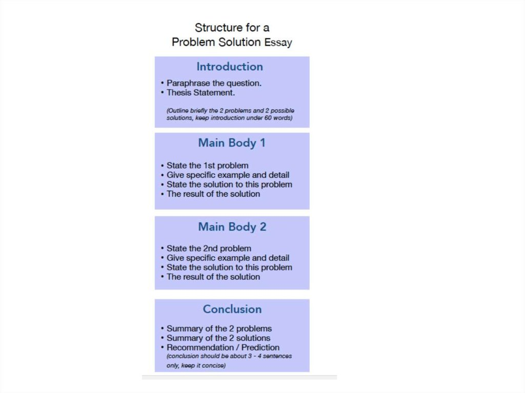 3 model answers Structure Language tips - online presentation