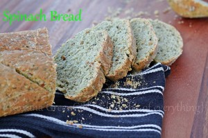 Spinach and Quinoa Bread