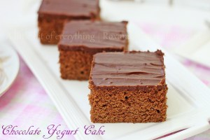 Chocolate Yogurt Cake