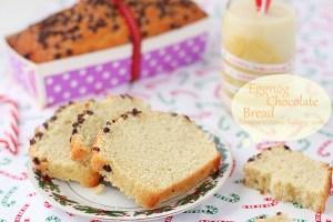 Eggnog chocolate bread