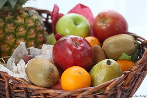 Tropical Treat Fruit Basket {giveaway}