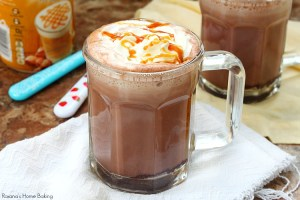 Caramel hot cocoa recipe