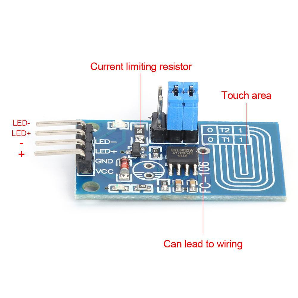 Available Capacitive Touch Dimmer Switch Module Pwm Control Panel Type Module For Dimmer Shopee Indonesia