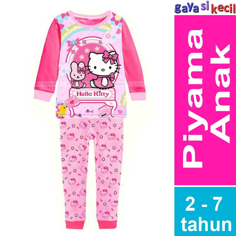 Serba Hello Kitty Piyama Anak Perempuan Hello Kitty