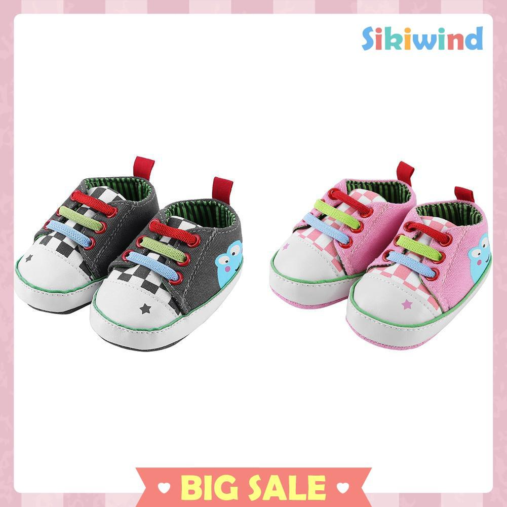 Newborn Elastic Shoes Cod Sikiwind Elastic Colorful Sneakers Baby Shoes Antislip Infant Toddler Walkers Shoes