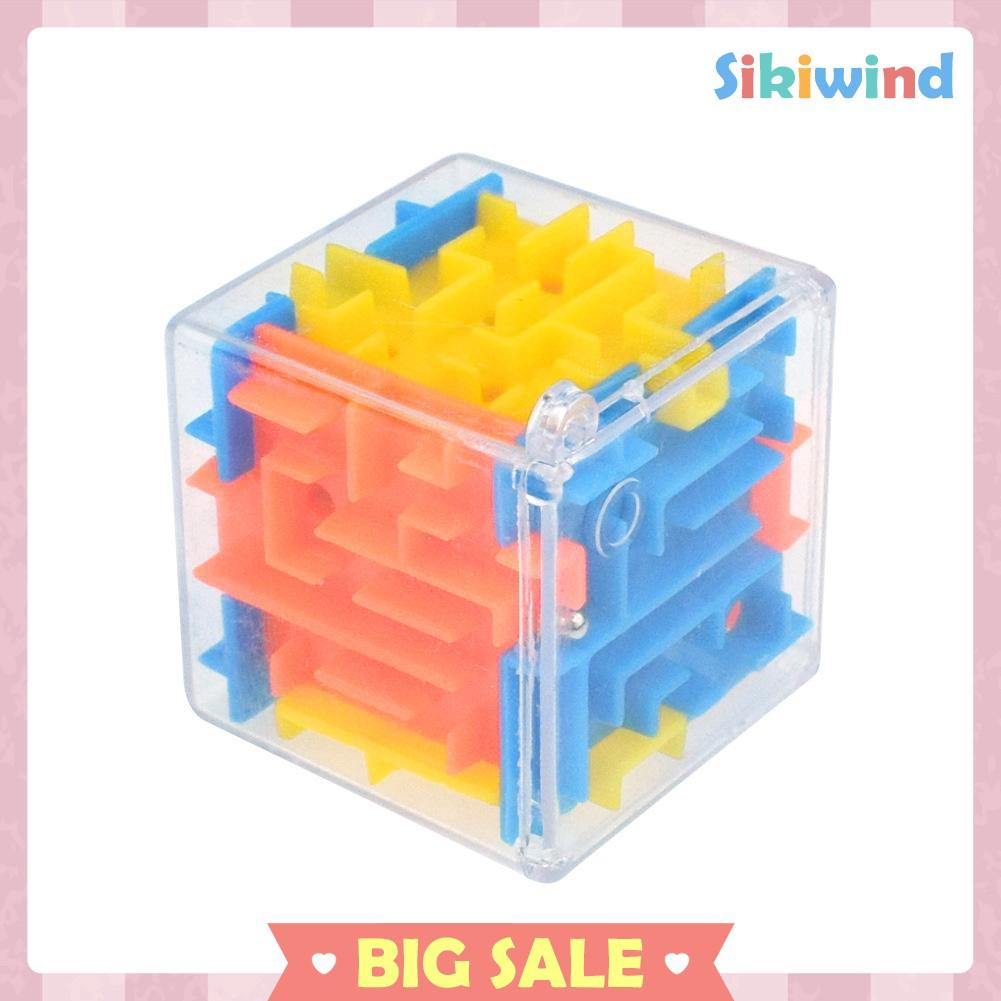 Toy Capsule Toys 3d Magic Cube Puzzle Maze Toy Kids Educational Decompression Capsule Toys Yuigog W