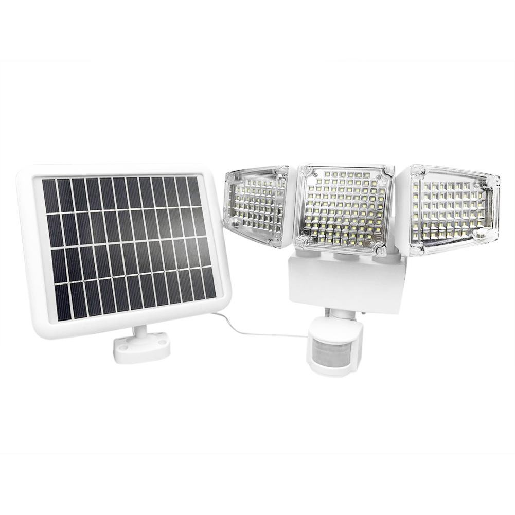 Cree Led Solar Powered Outdoor Garden Motion Sensor Security Flood Light Lamp