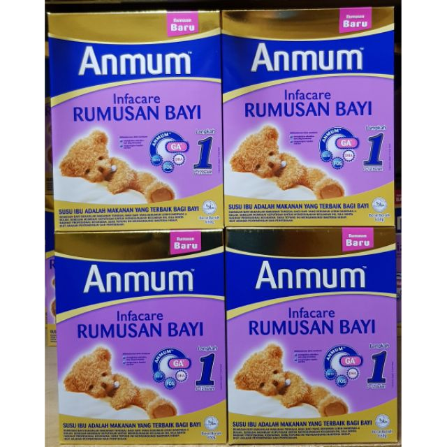 Infant Formula Newborn Hours Anmum Infacare Step 1 650g X 1 Box Shopee Malaysia