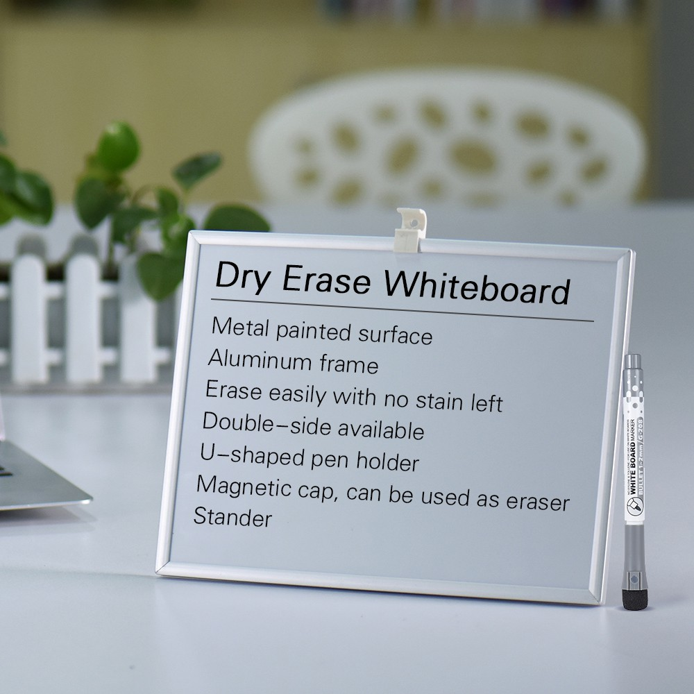 Whiteboard Ständer Dry Erase Magnetic Drawing Writing Board Whiteboard With Marker Pen Holder Stand