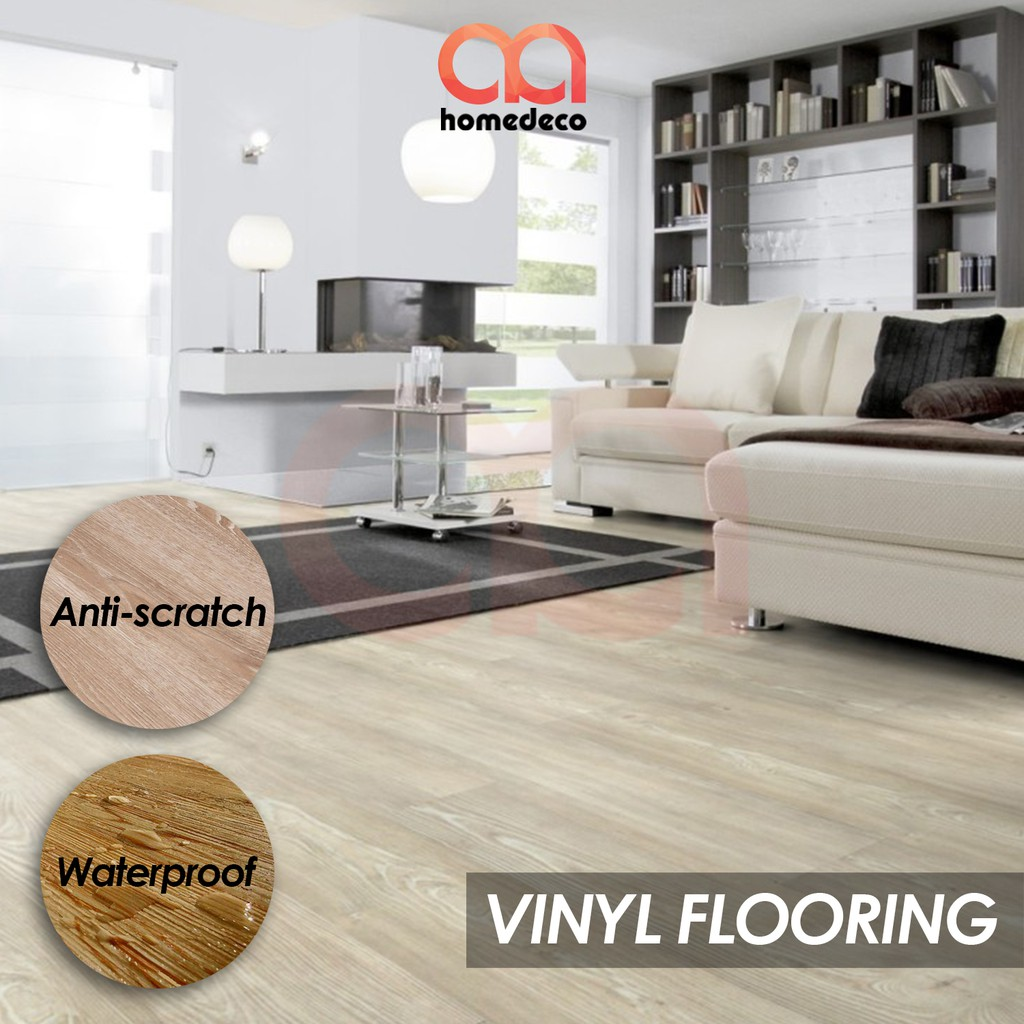 Cara Pasang Glass Block Untuk Lantai 36pcs 54sqft Diy Vinyl Flooring No Glue Needed