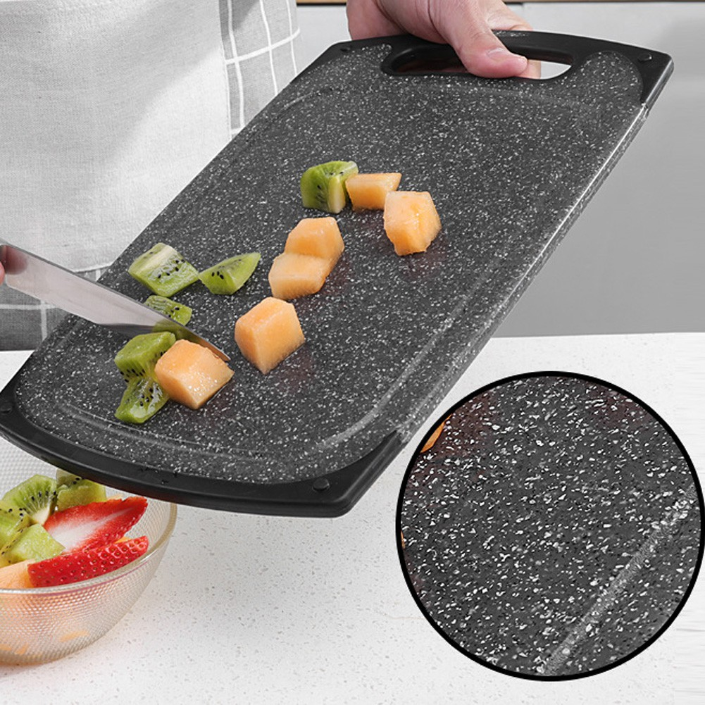 Cuisine Fyndig Imitation Marble Chopping Board Cutting Board Portable With Hanging Hole