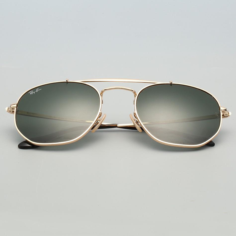 Mirror Frame Glasses Ray Ban 3648 Glass Lens Sunglasses For Women 54mm Glasses Mirror Eyewear