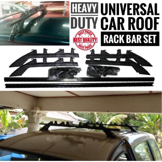 Car Roof Rack Roof Bar Carrier Bar Universal Without Drill