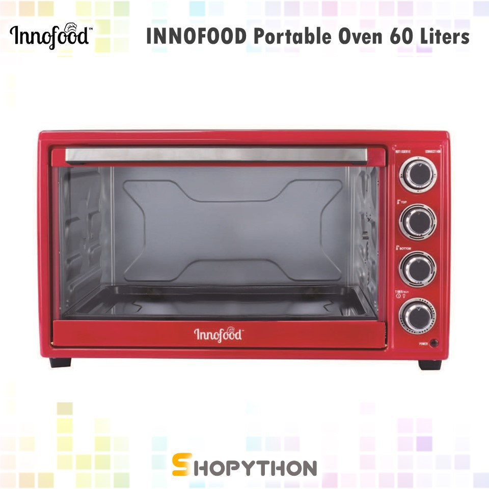 Gambar Oven Gas Innofood Independent Temperature Control Electric Oven Kt Cl60r 60l Rotisserie