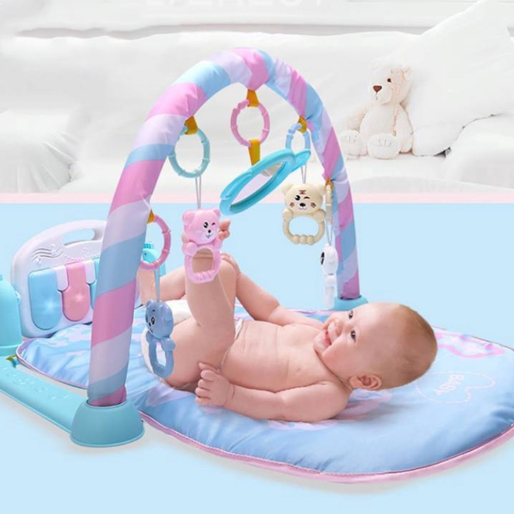 How To Play Newborn On Piano Lighting Interactive Newborn Music Play Baby Toy Activity Funny Gym Safe Educational Bodybuilding Pedal Piano
