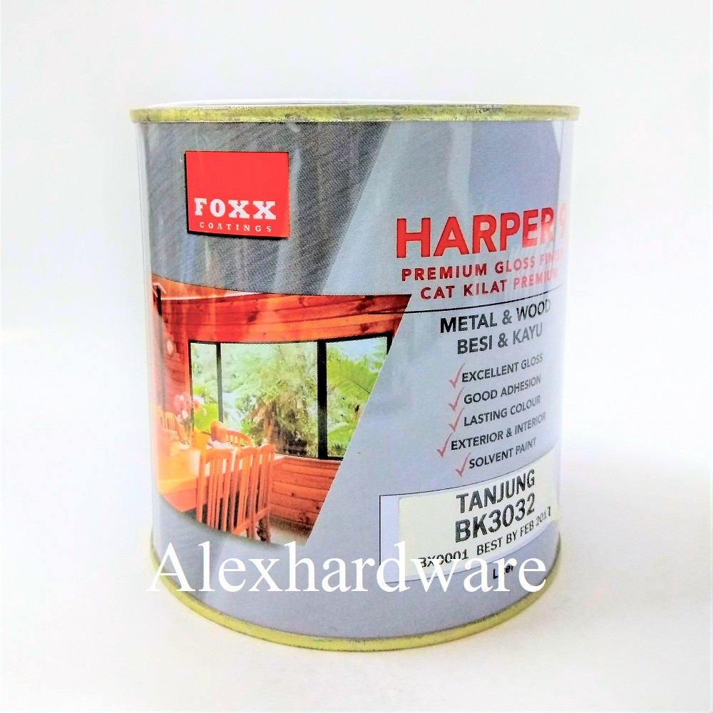 Cat Interior Terbaik 5 Litre Harper Gloss Paint For Wood Metal Cat Minyak Kilat Besi Kayu