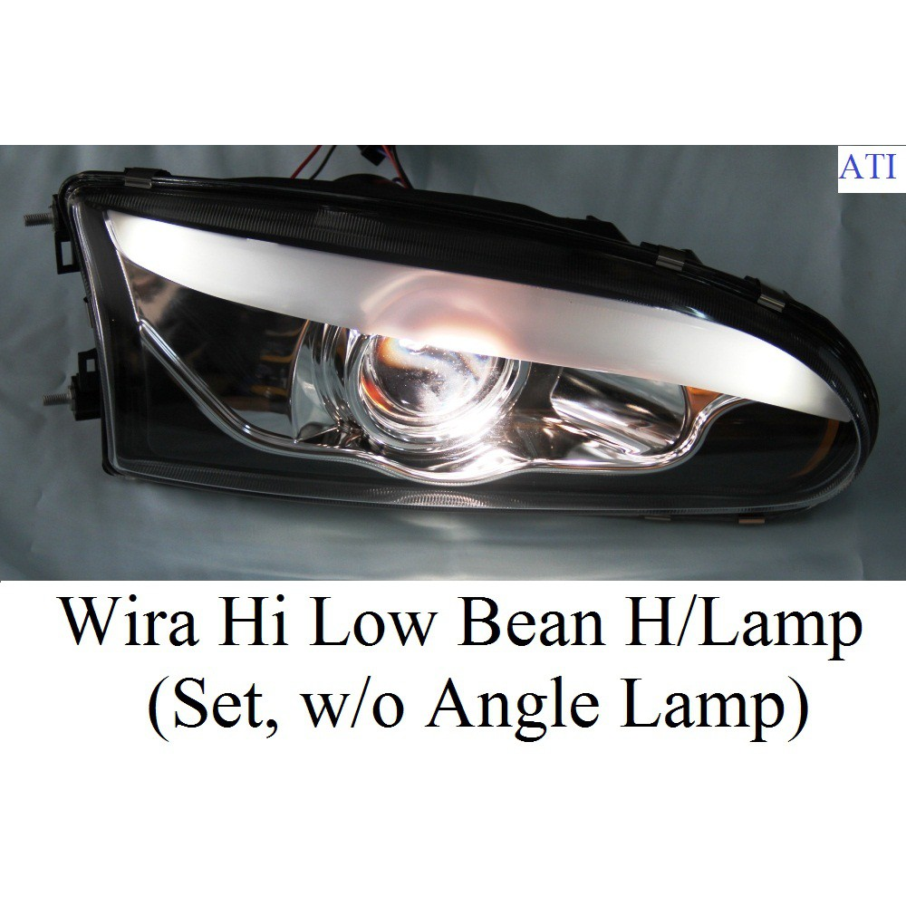 Harga Lampu Headlamp Wira Head Lamp Projektor Hi Low With Signal Wira Satria