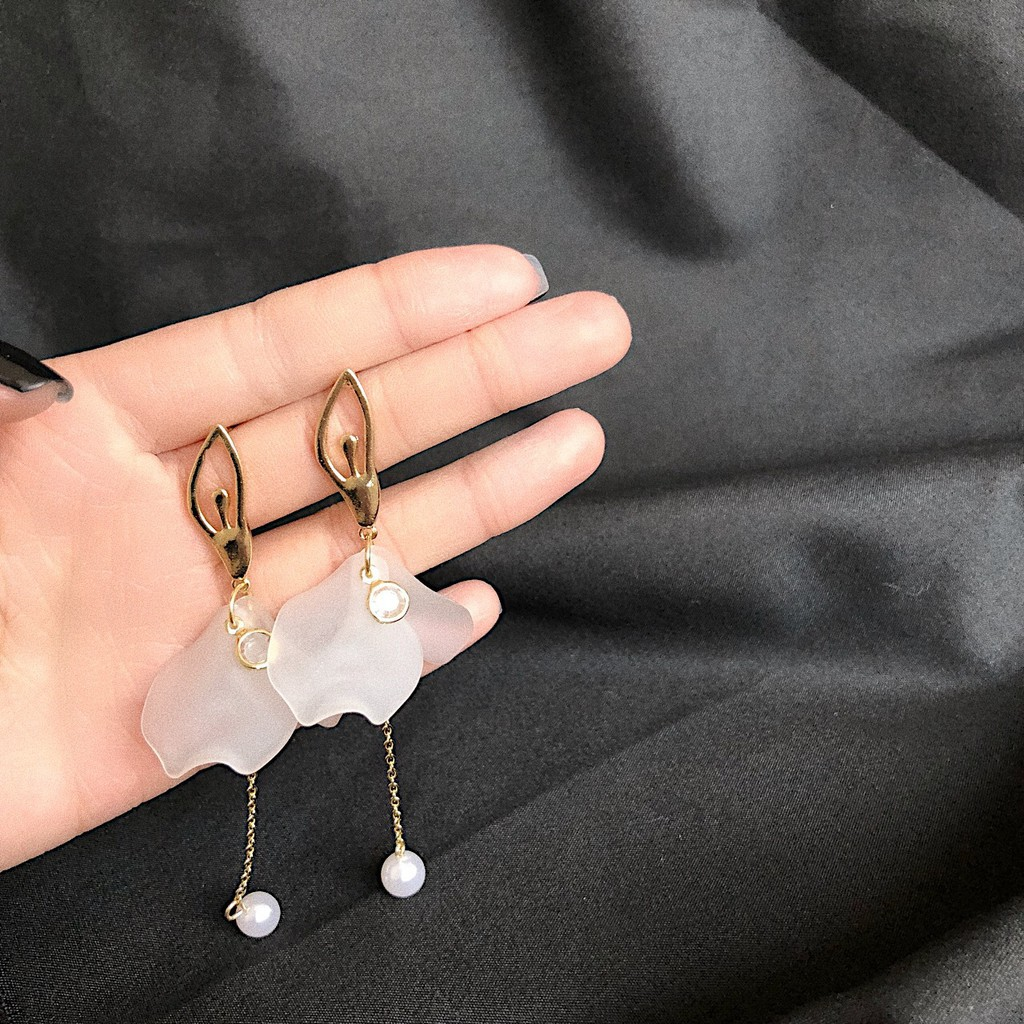 Wholesale Jewelry Japan Ballet Japan And South Korea Earrings Japan And South Korea Temperament Pearl