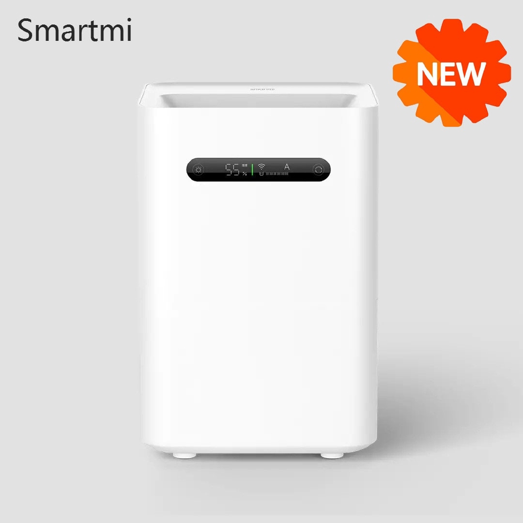 Youpin Smartmi Evaporative Humidifier 2 With Lcd Home Air Dampener Aroma Diffuser Essential Oil Mist Maker Mijia App Control Shopee Malaysia