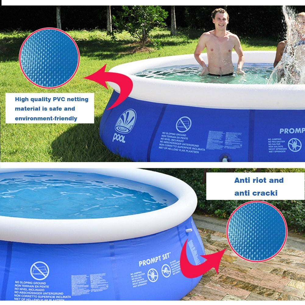 Bestway Frame Pool Untergrund Ifselect Summer Family Large Inflatable Swimming Pool