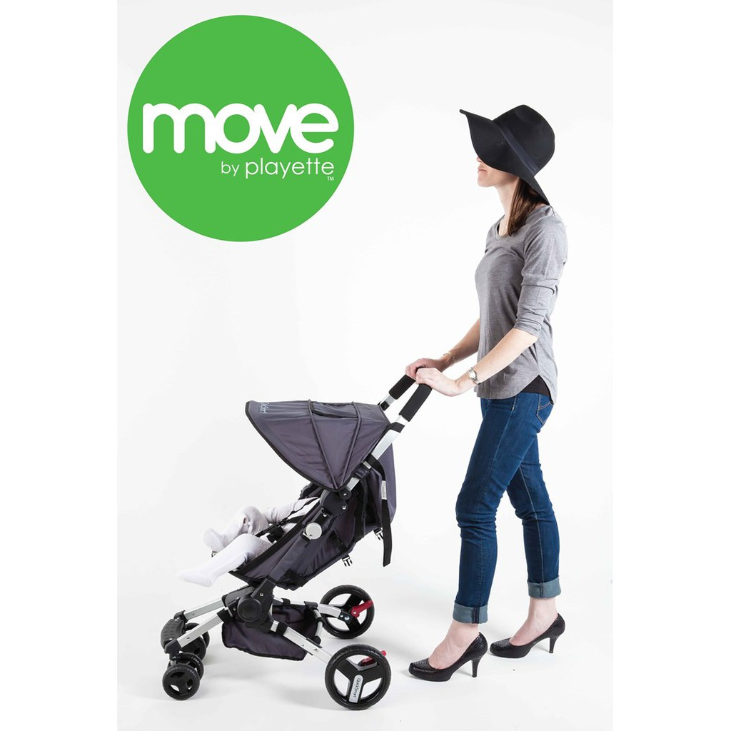 Zuzu Tandem Stroller Stroller Move By Playette Easy Fold Compact Stroller 4wheels Australia Product