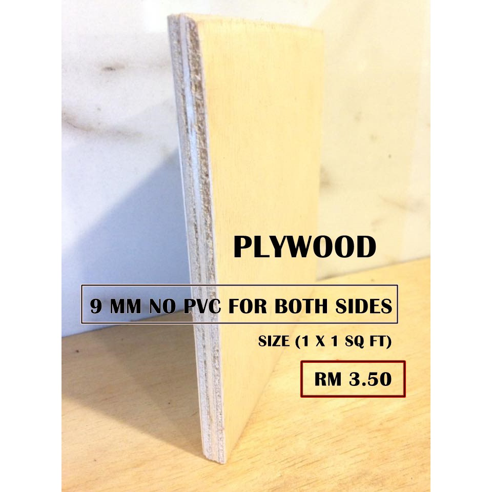 Ukuran Blockboard Plywood 9 Mm No Pvc