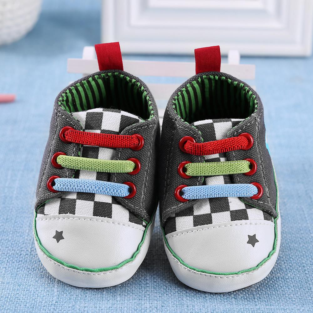Newborn Elastic Shoes Elastic Colorful Sneakers Baby Shoes Antislip Infant Toddler Walkers Shoes