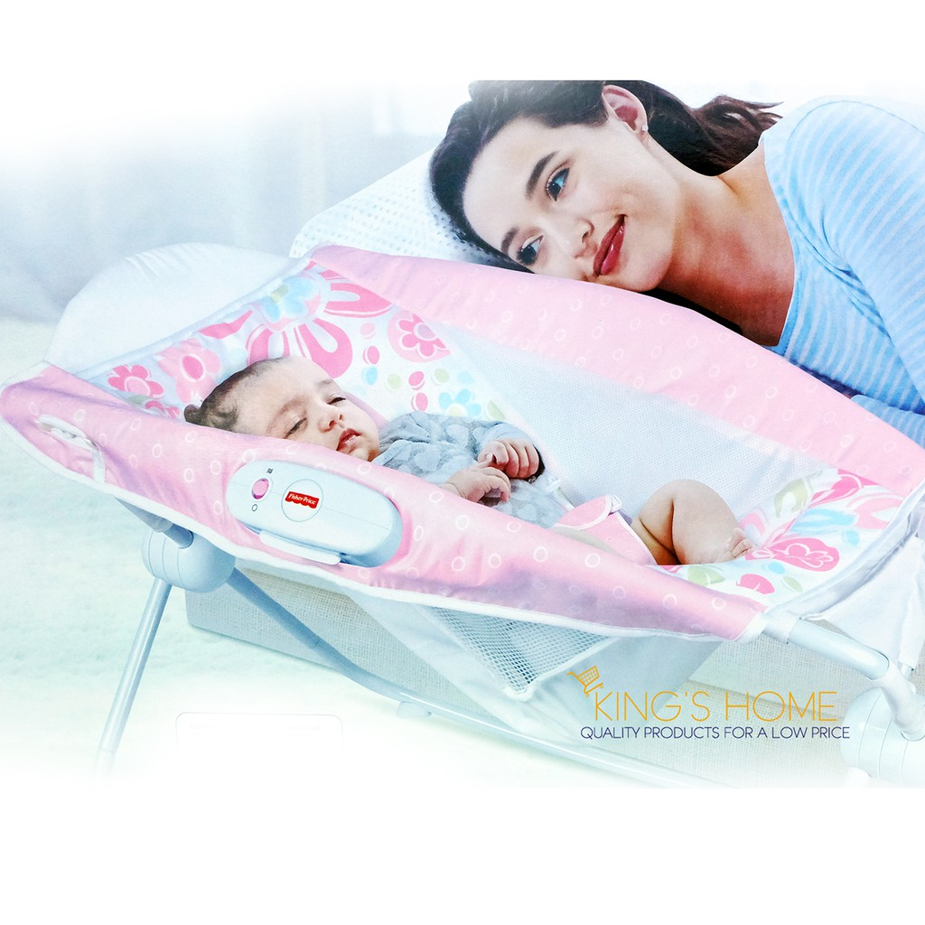 Baby Rocker Bed Skt Baby Sleeper Bed And Rocker With Music Shopee