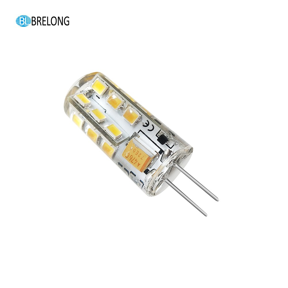 Brelong E27 E14 Gu10 Mr16 36led 2835 Plant Cup Light Ac 220 240v 1pc Brelong G4 Dimming 24led 2835 Silicone Corn Light Ac12v 1pc