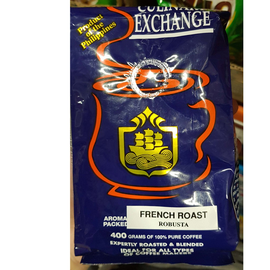 Asiatische Moringa Culinary Exchange Ground French Roast 400g