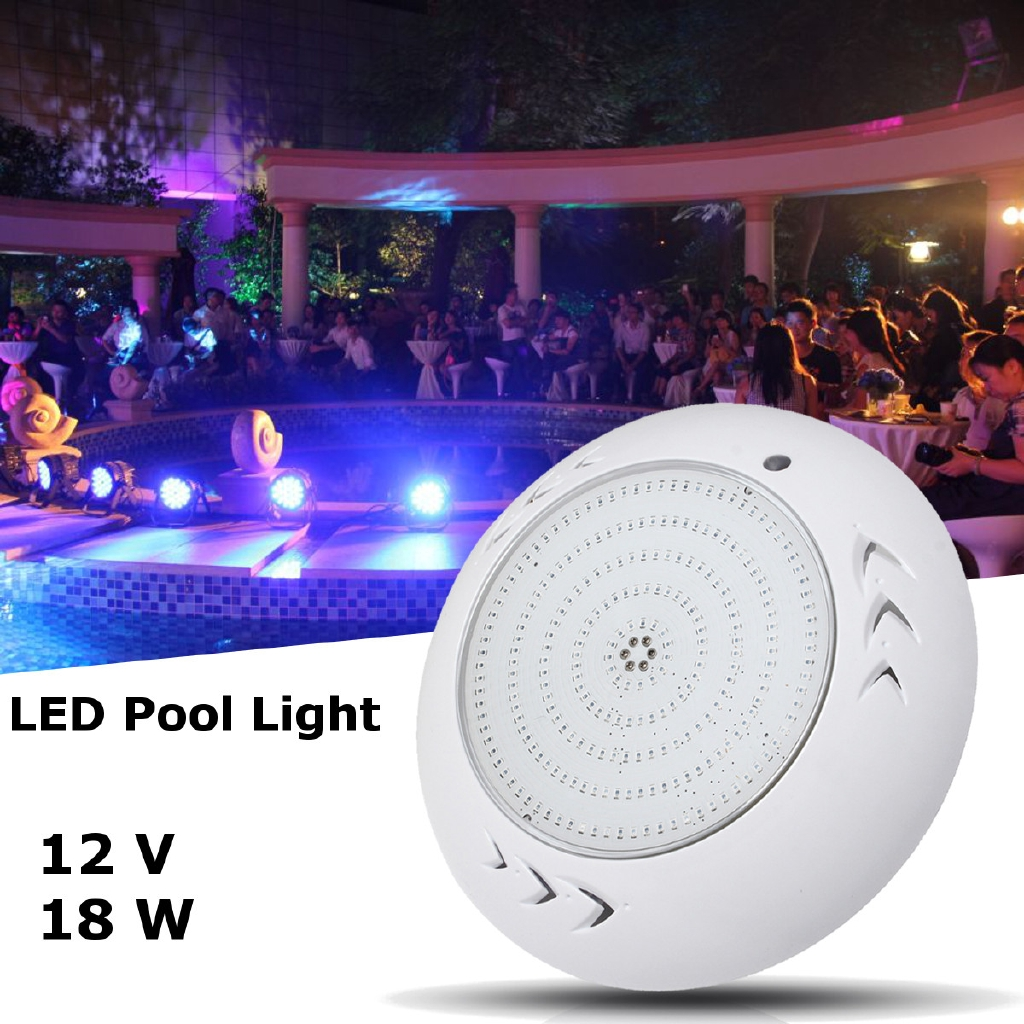 Jacuzzi Full Moon Underwater Pool Light 12v 18w Rgb Swimming Led Pool Lights Spa Light Replacement