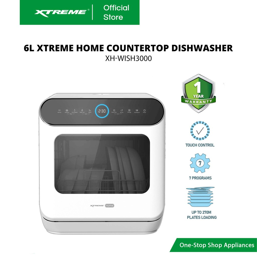 Https Shopee Ph Xtreme Home 6l Countertop Dishwasher Xh Wish 3000 I 260558898 7867506195