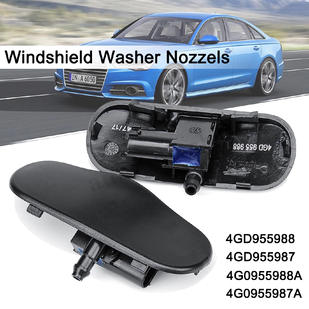 Lampe Rs7 Windshield Washer Heated Spray Nozzels Jets For Audi A6 S7