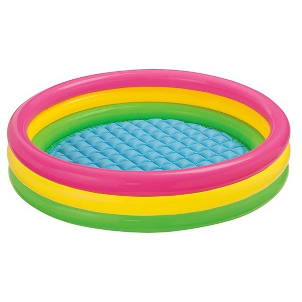 Intex Zwembad 2.60 X 1.60 Intex 3 Layer Inflatable Round Swimming Pool No 57422np