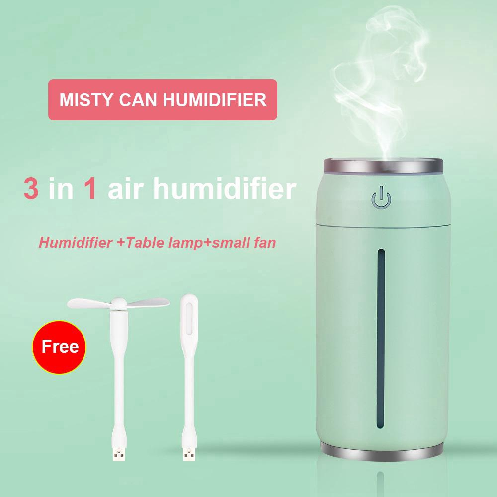 Evaporative Air Humidifier Aroma Essential Mini Usb Oil Diffuser For Home Car Office Mist Maker With Led Night Fan Shopee Philippines