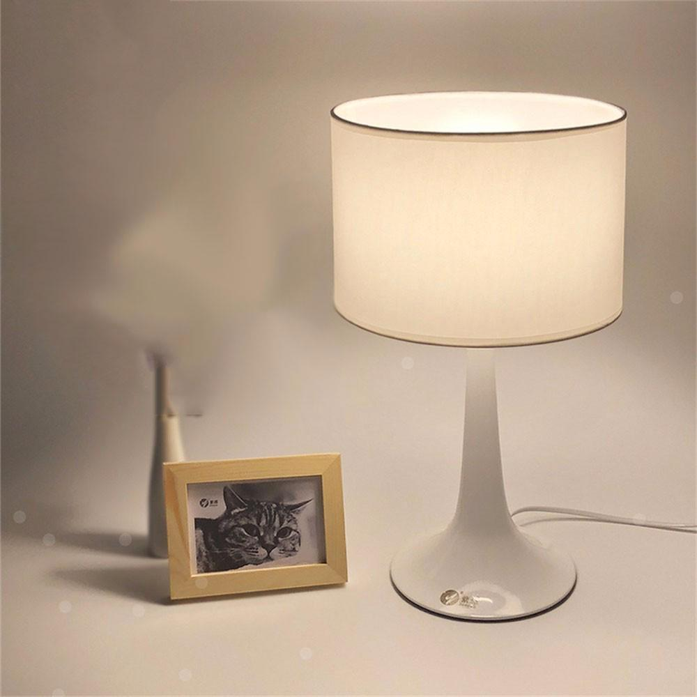 Modern Lamps Led Modern Minimalist Led Simple Creative Decorative Button Warm Table Lamp