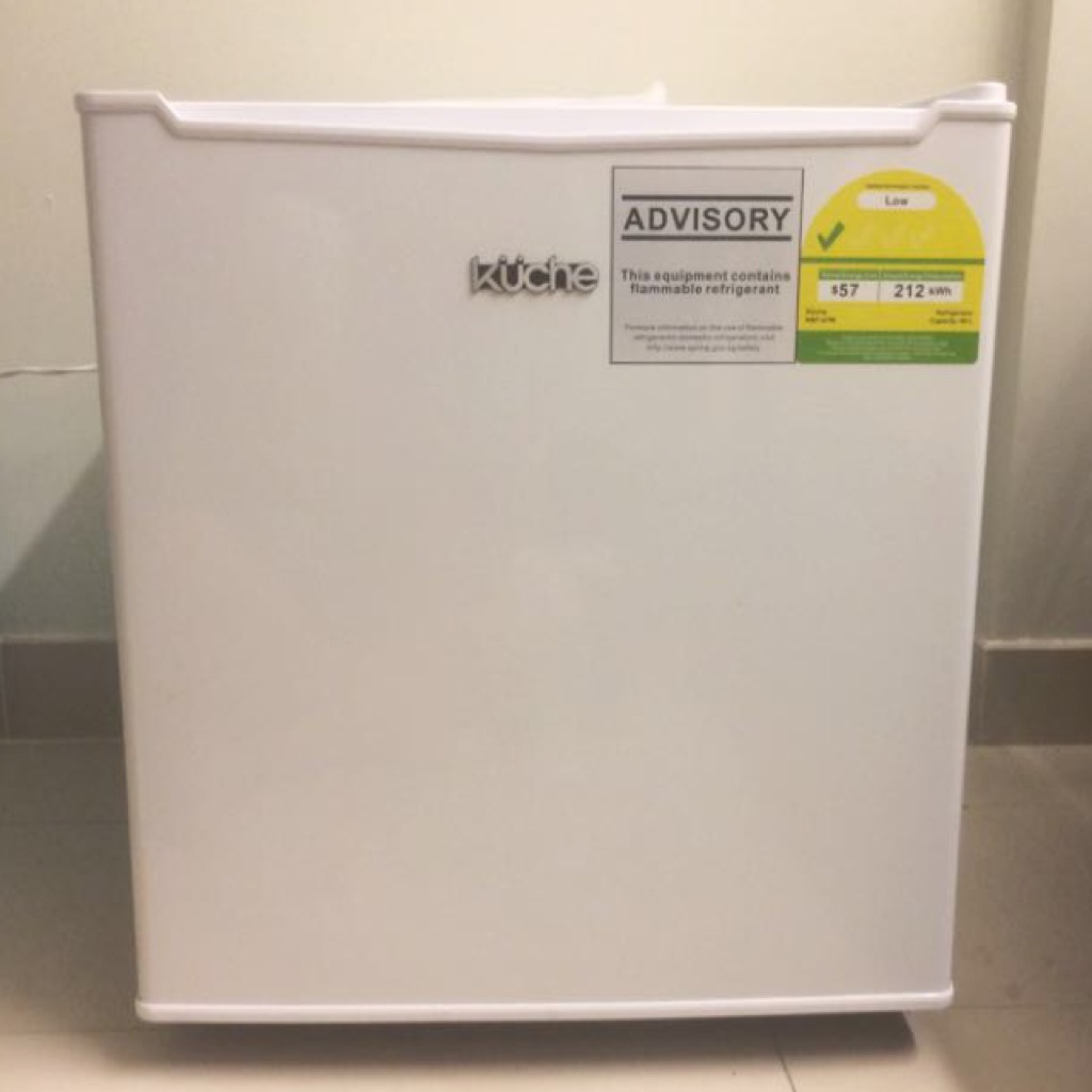 Kuche Bar Fridge Review Kuche 46l Mini Bar Fridge Shopee Singapore