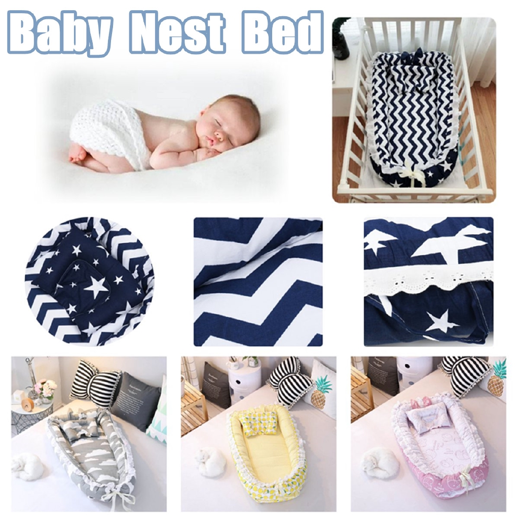 Toddler Mattress Vs Baby Mattress Baby Pillow Sleep Cushion Newborn Cot Crib Portable Nest Bed Mattress Breathable