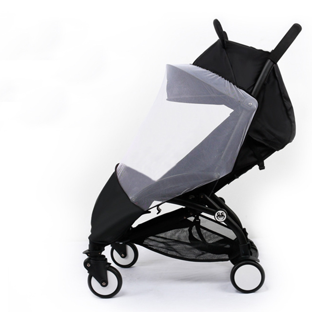 Stroller Mesh Cover Mesh Mosquito Net Buggy Pram Universal Insect Prevention Elastic Baby Outdoor Pushchair Stroller Cover For Yoya