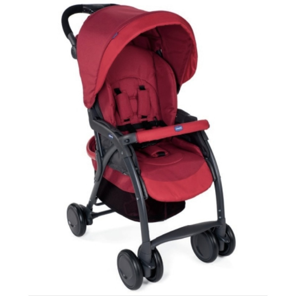 Buggy Stroller India Chicco Simplicity Complete Stroller India Ink Scarlet