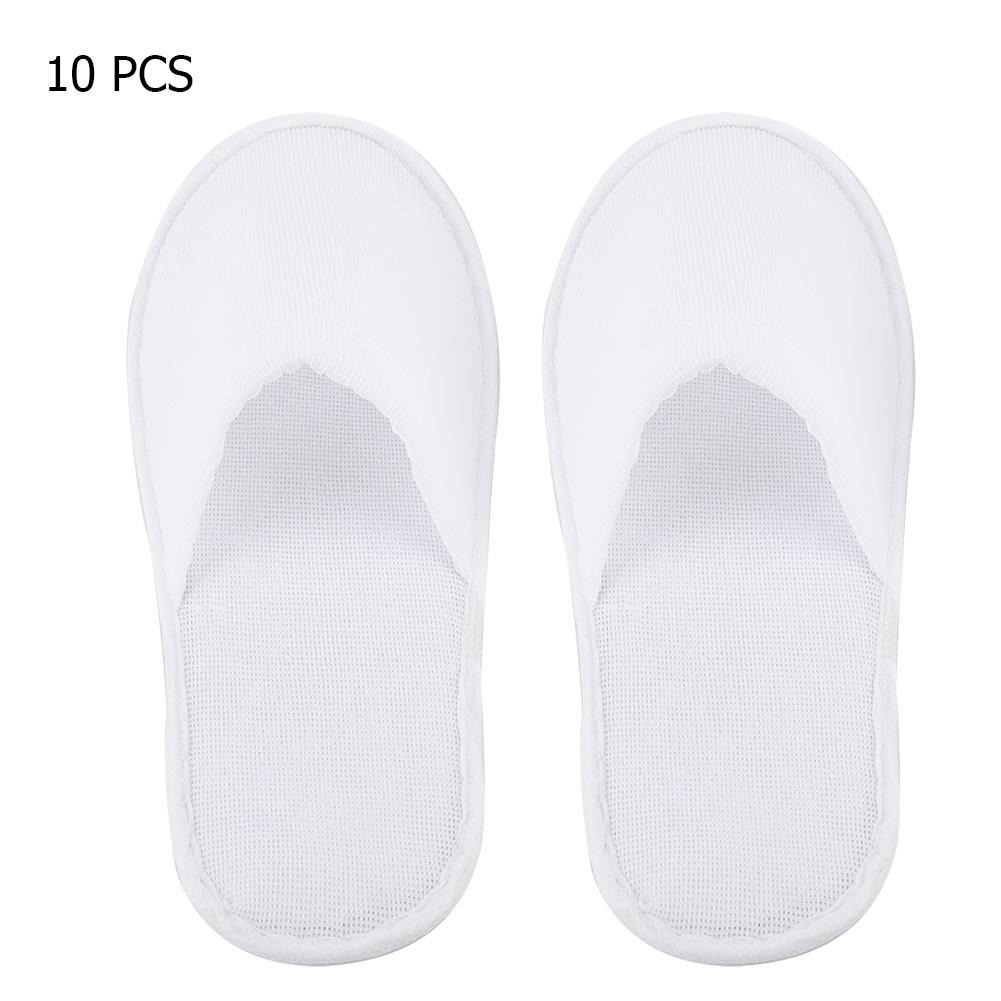 Baby Hotel Slippers 10 Pairs Disposable Guest Slippers Travel Hotel Slippers