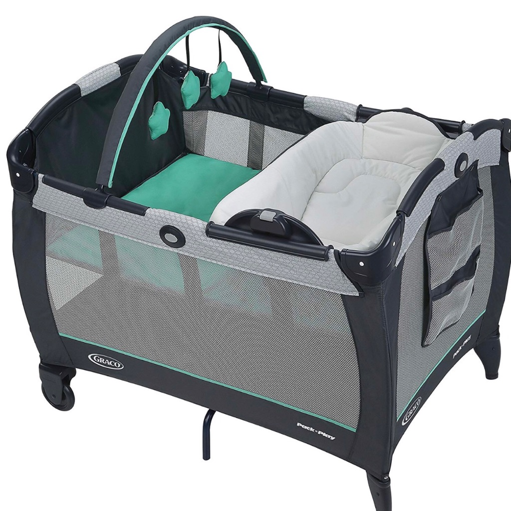 Baby Cradle Graco Graco Pack N Play Playard With Reversible Napper And Changer Nyssa And Basin