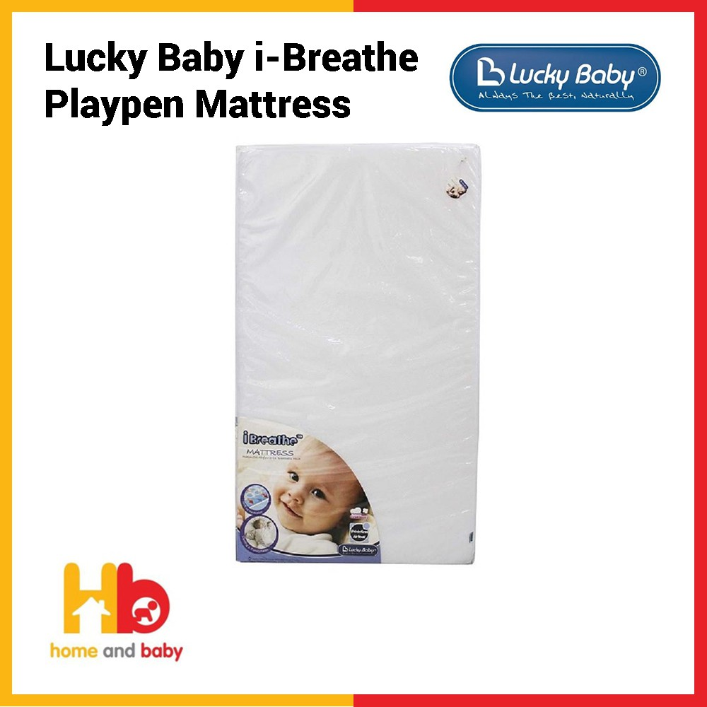 Toddler Mattress Vs Baby Mattress Lucky Baby I Breathe Playpen Mattress