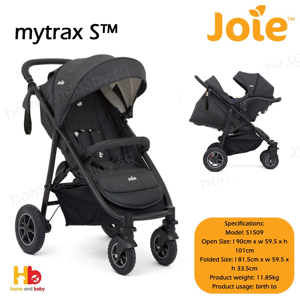 Travel System Joie Chrome Joie Mytrax S