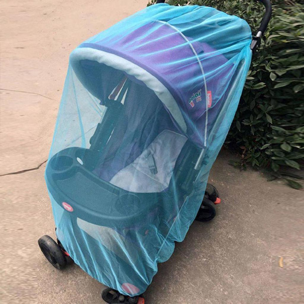 Carriage Type Strollers Gr Durable Full Cover Baby Stroller Mosquito Net Baby Carriages Protection Mesh