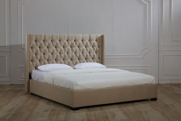 Justinbeds Mayfair Fabric Ottoman Storage Bed Frame With