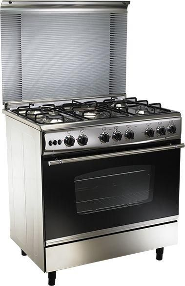 Union Air 5 Burner Gas Stove With Cast Iron Pan Support - Electric Stove Price