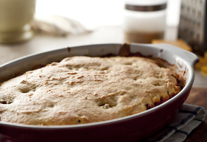 Beef and Cornbread Bake