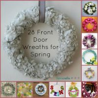 24 Decorative Front Door Wreaths for Spring | FaveCrafts.com